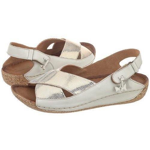 Sandały kremowe 00994-37 (ma151-b) marki Maciejka