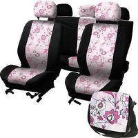pokrowce na siedzenia ladyline pink flower marki Carpoint