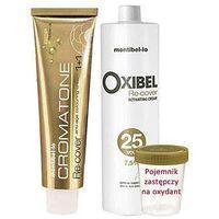 Montibello Cromatone Recover zestaw do farbowania włosów siwych 60ml + oxydant 60ml 10.32 Champagne Gold