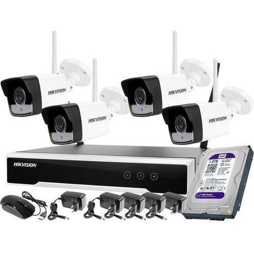 Monitoring zestaw bezprzewodowy Hikvision 4 kamery WiFi Full HD 1080p 1TB