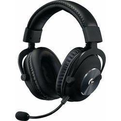 Logitech słuchawki gamingowe G Pro X Wireless, czarne (981-000907)