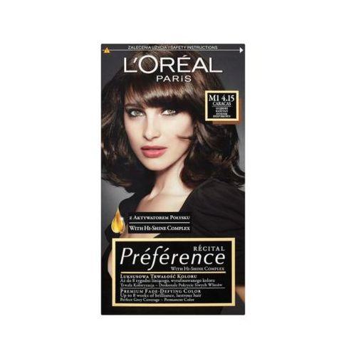 L'oréal paris Loreal paris récital préférence m1 4.15 caracas farba do włosów