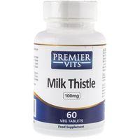 Premier Vits Milk Thistle (Ostropest Plamisty) - 60 tabletek