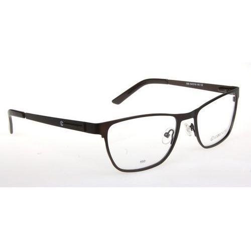 Lorenzo conti Oprawki okularowe lorenzo 550 c2 brąz mat