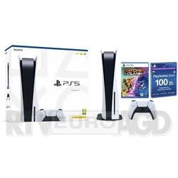 Sony PlayStation 5 (PS5) + Ratchet & Clank: Rift Apart + PlayStation Network 100 zł