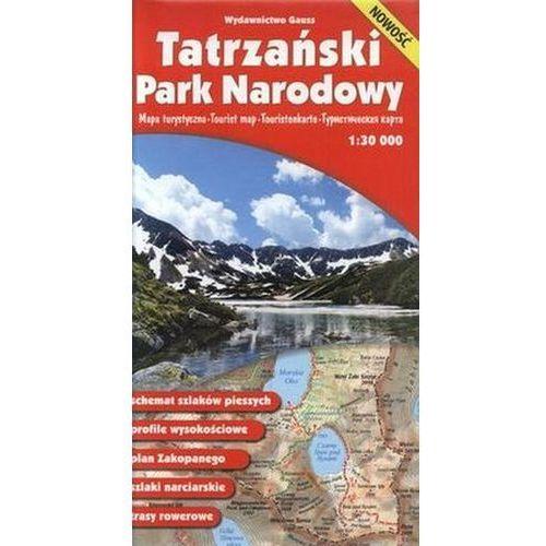 Tatrzański Park Narodowy. Mapa turystyczna. 1: 30 000, Gauss (9788391995990)