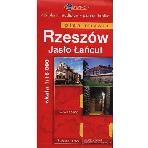 Rzeszów Jasło Łańcut plan miasta 1:18 000 (2 str.)