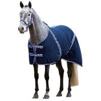 Kerbl derka dla konia rugbe classic, niebieska, 155 cm, 323638