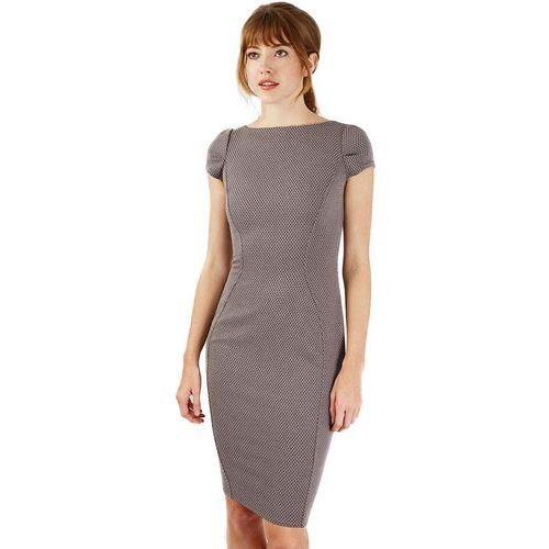 Closet London damska sukienka 42 szary, kolor szary