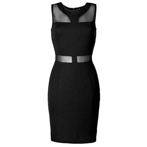 Sukienka bonprix czarny, w 6 rozmiarach