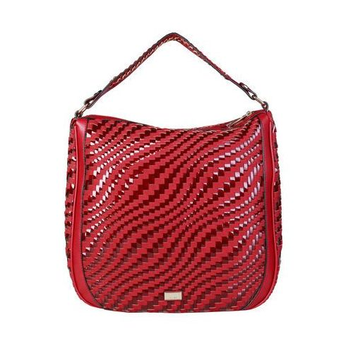Torebka listonoszka damska CAVALLI CLASS - C41PWCBU0022-26, kolor czerwony