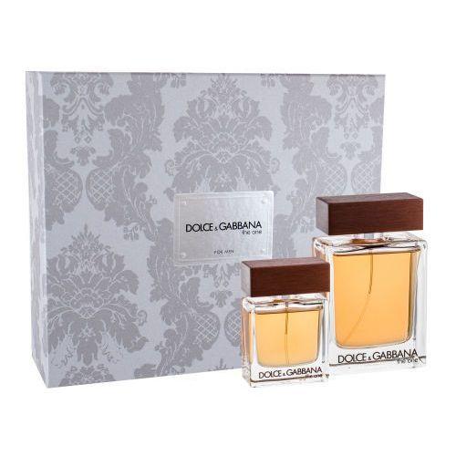 Dolce&Gabbana The One For Men zestaw Edt 100ml + Edt 30ml dla mężczyzn