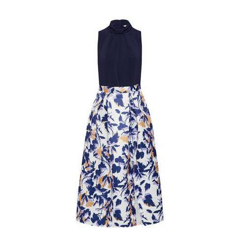 sukienka 'closet gold' granatowy / biały, Closet london, 36-44