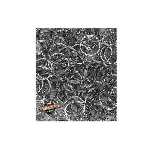 10 x kółko stalowe karbowane 20 mm przeznaczone do wyrobu breloków z Paracordu