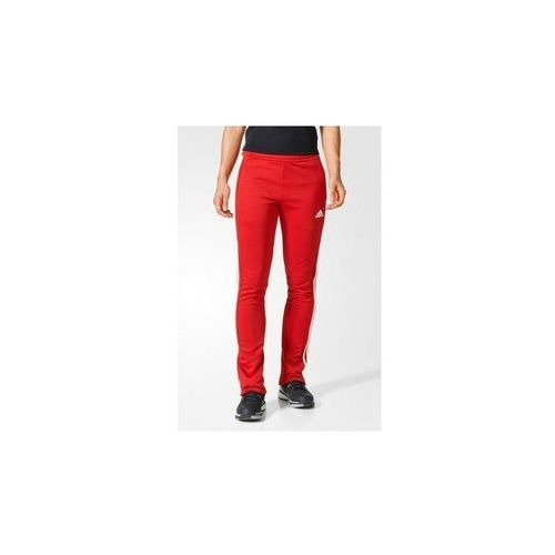 Adidas spodnie dresowe sweat damskie t16 red-white, kolor: red - white, rozmiar: l