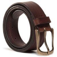 Pasek Męski WRANGLER - Double Layer Belt W0D1U1X85 Brown