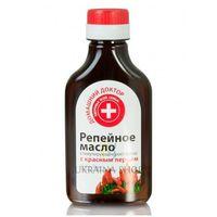 Olej Łopianowy z Czerwoną Papryką, 100 ml, 100% Naturalny