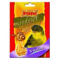 VITAPOL Vitaline perełki miodowe dla kanarka 20g