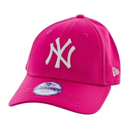 czapka z daszkiem NEW ERA - 940K Mlb League Basic Neyyan Hpink/Wht (HPINK/WHT)