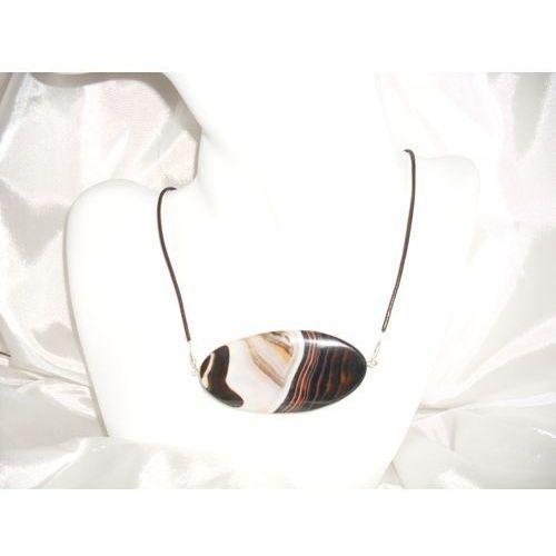N-00019 Naszyjnik z agatu barwionego, 14-03-11