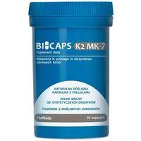 BICAPS K2 MK-7, 30 KAPSUŁEK FORMEDS WITAMINA K2