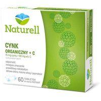 Tabletki Naturell Cynk organiczny + C 60 tabl.