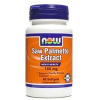 Tabletki NOW Foods Saw Palmetto, 60 tabl