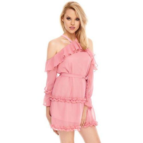 72fd4267 Sukienka mare w kolorze różowym marki Sugarfree ceny opinie i ...