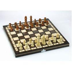 Szachy drewniane klasyczne 31 cm ABINO, 1_680293