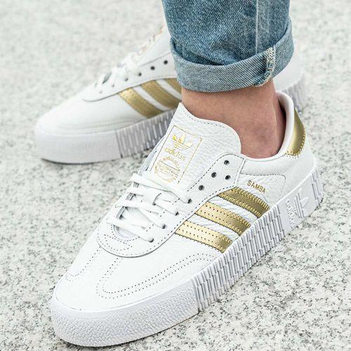 Buty sportowe damskie Adidas Originals Sambarose W (EE4681), kolor biały