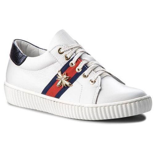 Sneakersy 0961 biały lico (R.Polański)