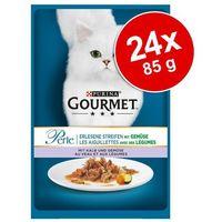 Pakiet Gourmet Perle Seaside Duo, 24 x 85 g - Sardynki i tuńczyk (7613033578113)
