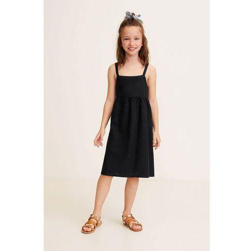 9fd9ef585e Mango Kids Mango Kids - Sukienka dziecięca Linen 116-164 cm