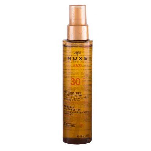 Sun tanning oil spf30 preparat do opalania ciała 150 ml dla kobiet Nuxe - Ekstra oferta