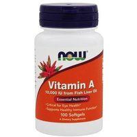 Witamina NOW Foods Vitamin A 10 000iU 100softgeal Najlepszy produkt