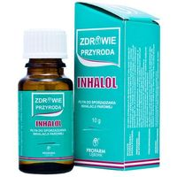 Krople Inhalol krople do inhalacji x 10g