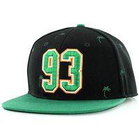czapka z daszkiem K1X - Tropics Black/Turquoise (0416)