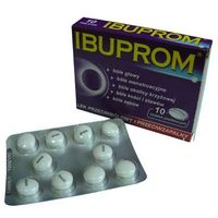 IBUPROM - przeciwbólowy i przeciwzapalny 10 tabl.