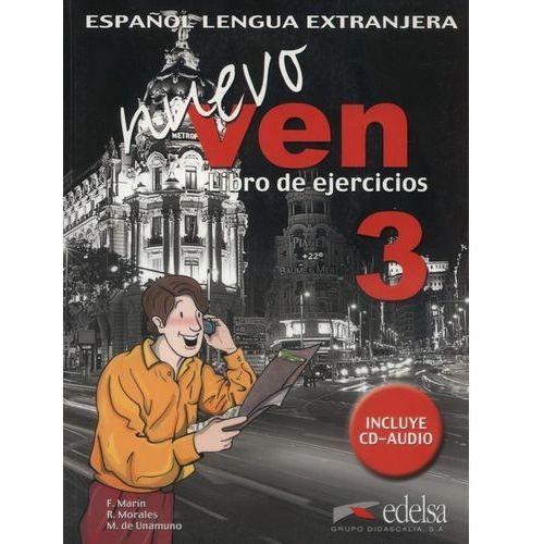 Nuevo ven 3-libro de ejrcicios, oprawa broszurowa