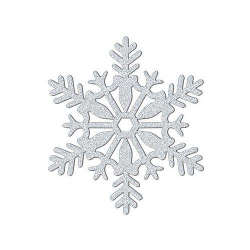 Amscan Dekoracja wisząca brokatowa śnieżka - 28 cm - 1 szt