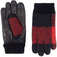 rękawice BENCH - Leather & Knit Glove Black Beauty (BK11179)