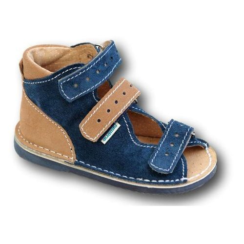183c88a7 Buty profilaktyczne wzór 012nm jeans/beż (Adamki) - sklep ...