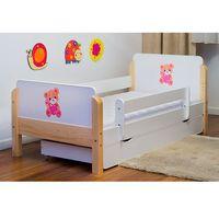 Łóżko dziecięce drewniane Kocot-Meble BABYDREAMS MIŚ Z SERCEM Kolory Negocjuj Cenę