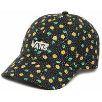 Vans Damska czarna czapka z daszkiem WM Court Side Printe Polka Ditsy