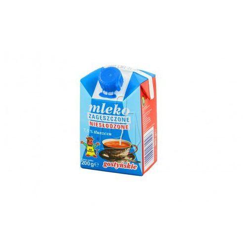200g 7,5% mleko zagęszczone niesłodzone Gostyń