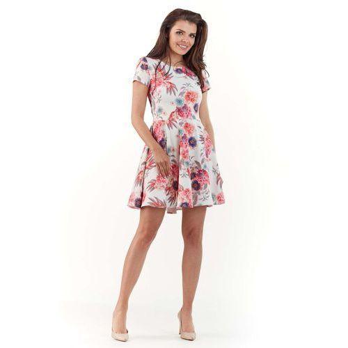 0af1dfa340 Zobacz ofertę Sukienka w kwiaty z rozkloszowanym dołem - fuksja Infinite you