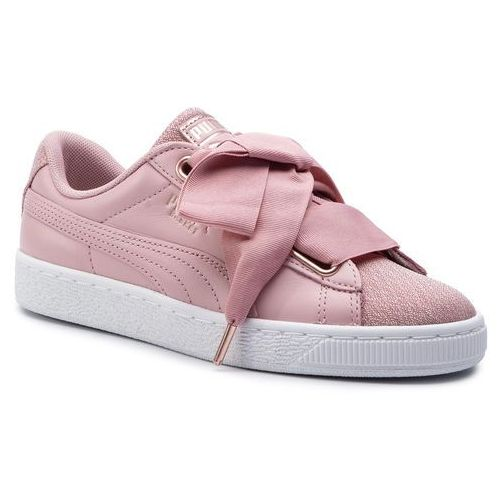 3def0469 Puma Sneakersy PUMA - Basket Heart Woven Rose Wns 369649 01 Bridal Rose/Puma  White,