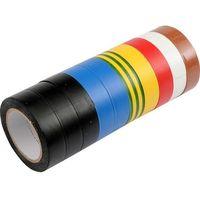 Vorel Taśma izolacyjna pvc 19mm x 20m, mix, kpl. 10szt / 75028 / - zyskaj rabat 30 zł (8595025341228)