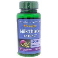 Puritan's Pride Ostropest Plamisty (Milk Thistle) 1000 mg - 90 kaps.