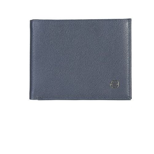 Męski portfel pu1241x2 niebieski Piquadro